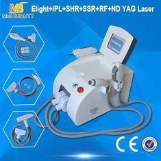 الصين آلة إزالة الشعر عالية الطاقة IPL RF ND YAG الدائم ليزر المزود