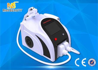 الصين الأبيض المحمولة 2 في 1 معدات إزالة الشعيرات SHR بدون تاريخ ياج ليزر الوشم المزود