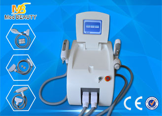 الصين النوع الأبيض IPL SHR RF ND YAG الليزر IPL الجمال المعدات عمودي المزود