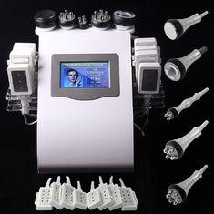 الصين 5 مقابض معدات شفط الدهون بالليزر، آلة التجويف الترددات اللاسلكية المزود