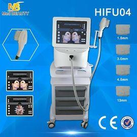 الصين HIFU عالية الكثافة المركزة حقائب الموجات فوق الصوتية العين الرقبة إزالة الجبين موزع