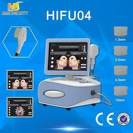 الصين المحمولة آلة HIFU أدوات تجميل سطحي DEEL الأدمة وSMAS موزع