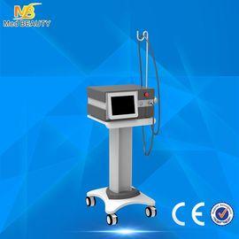 الصين عمودي بالمستخدمين العلاج معدات / الخارجة صدمة الموجة العلاج آلة Eswt تقليل آلام موزع